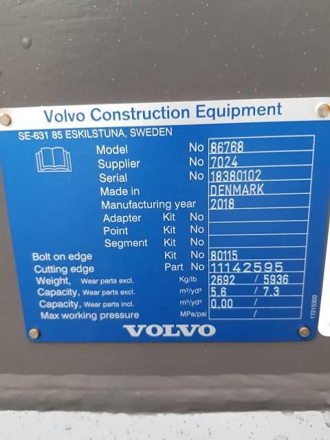 Volvo Sandskopa 5,6 m3, Buckets, Construction Equipment