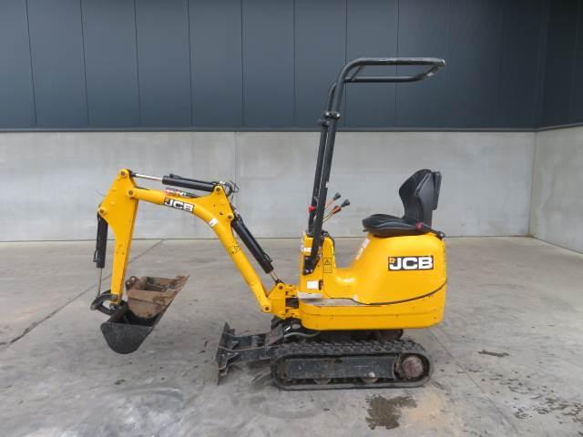 JCB 8008, Minigraafmachines < 7t, Bouw