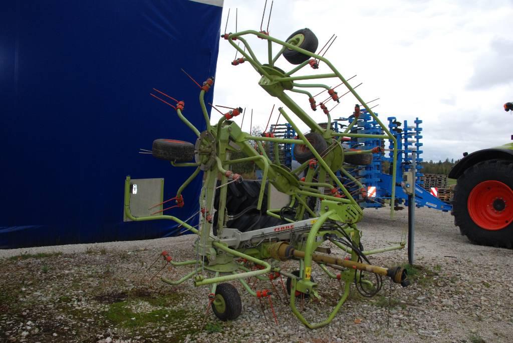 CLAAS Volto 770, Vaalutid ja kaarutid, Põllumajandus