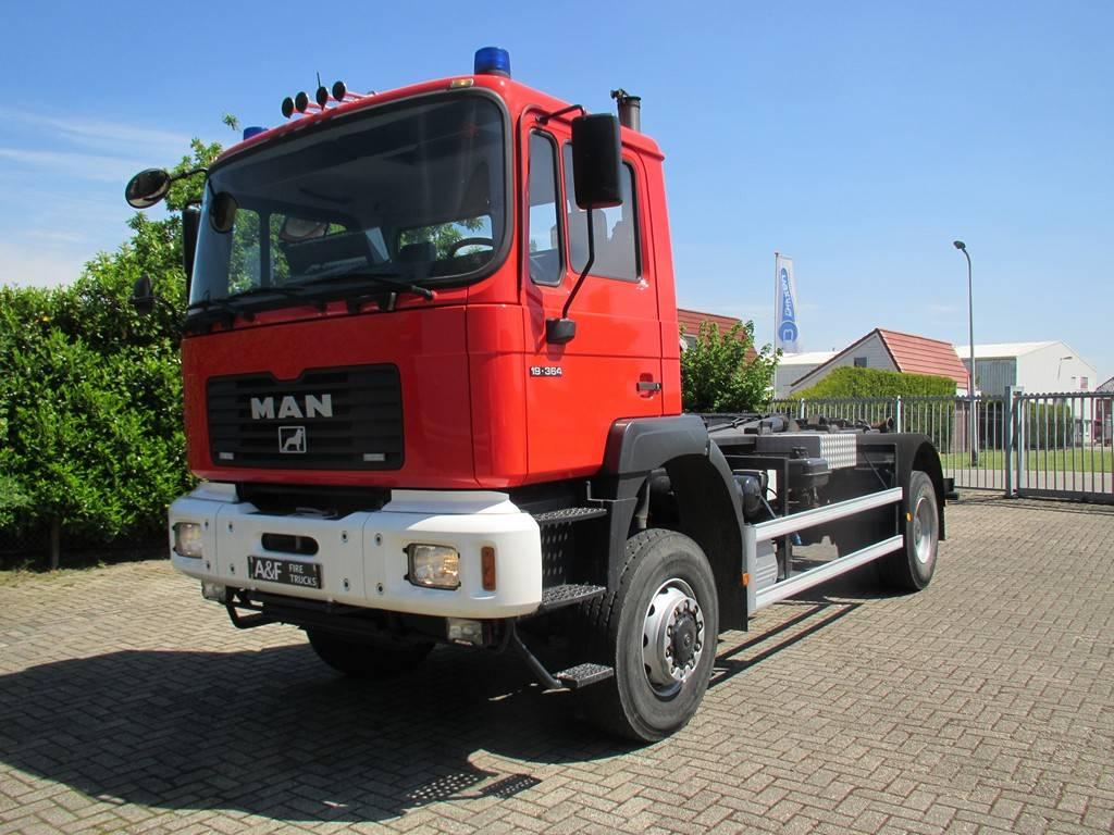 MAN 19.364 Haakarm/Hooklift/Abrolkipper, Abrollkipper, LKW/Transport