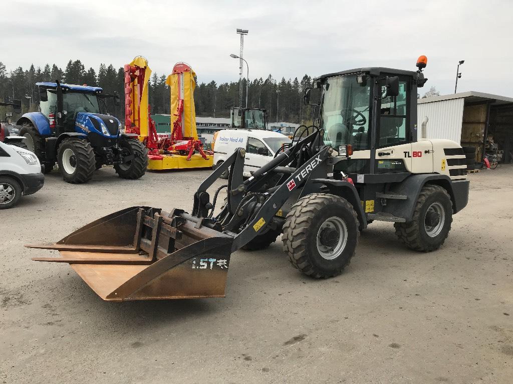 Terex TL 80 36km/h -15, Hjullastare, Entreprenad
