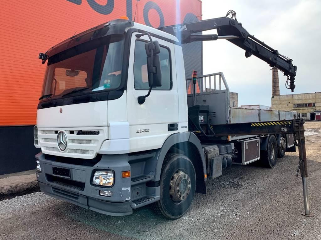 Mercedes-Benz 2532 HIAB 166, Boom / Crane / Bucket Trucks, Trucks and Trailers