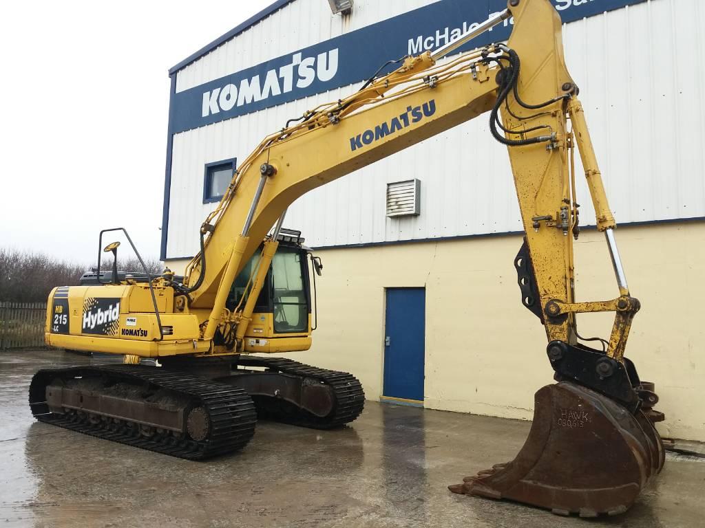 Komatsu HB 215 LC, Crawler Excavators, Construction Equipment