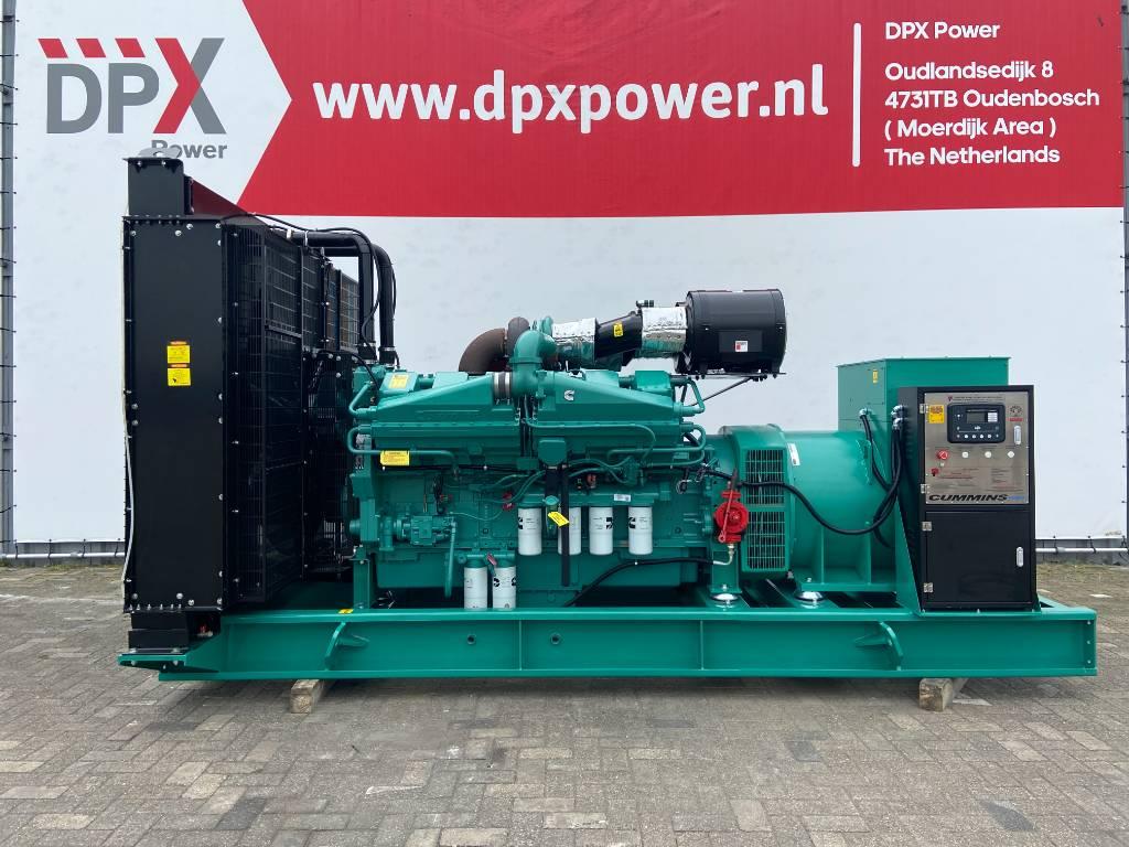 Cummins KTA38-G5 - 1.100 kVA Generator - DPX-18814, Diesel generatoren, Bouw