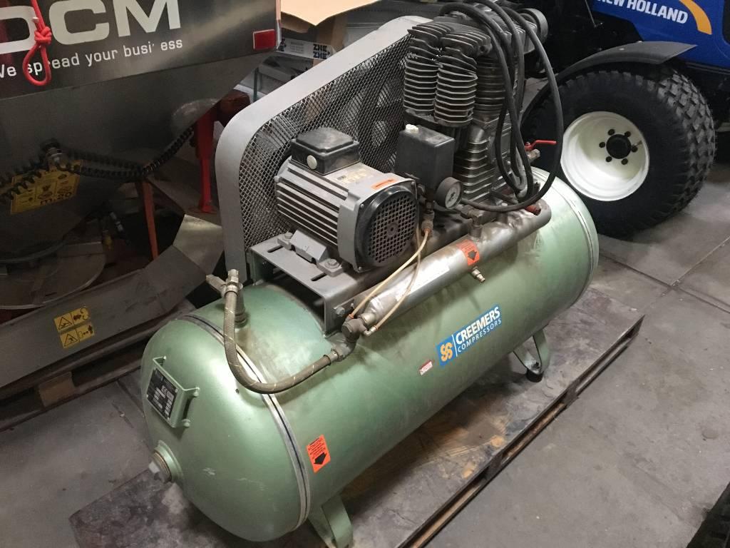 Creemers compressor, Overige terreinbeheermachines, Terreinbeheer