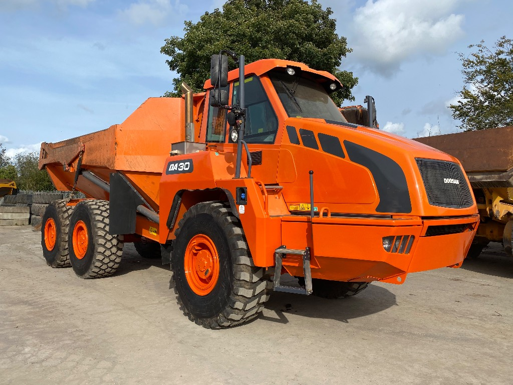 Doosan DA 30, Articulated Dump Truck, Construction Equipment