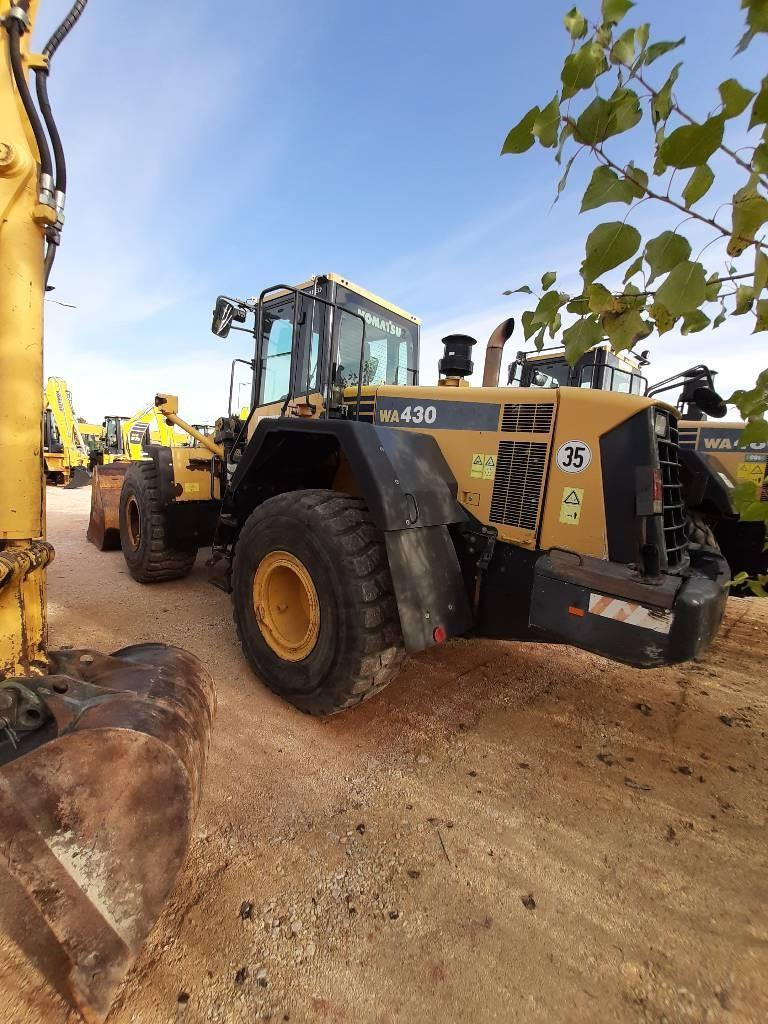 Komatsu WA430-6, Wheel Loaders, Construction Equipment