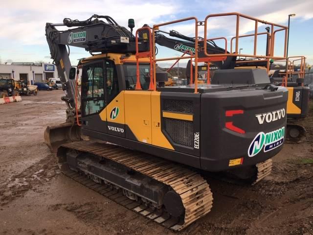 Volvo EC220 EL, Crawler excavators, Construction