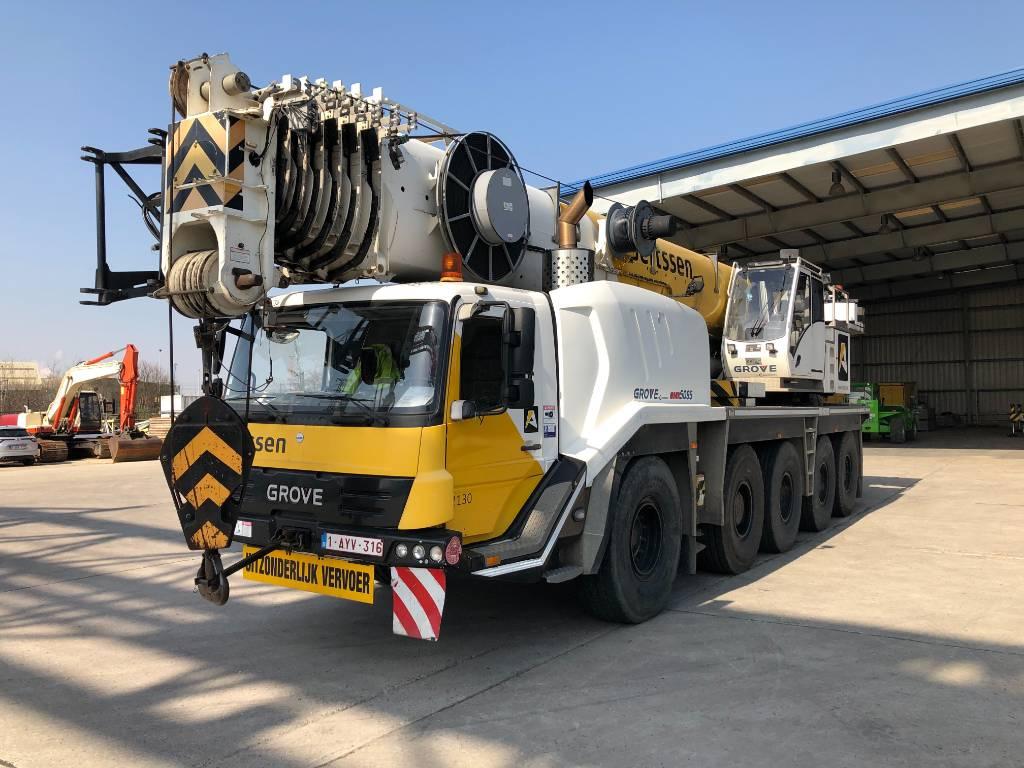 Grove GMK 5095, All terrain cranes, Construction