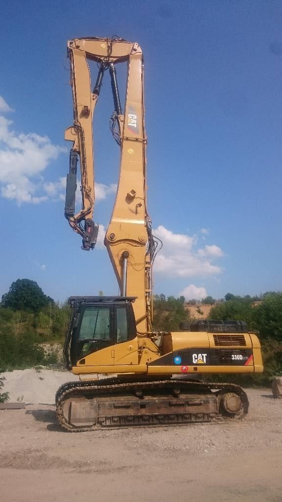 Caterpillar 330DL UHD Ultra High Demolition 21m, Abrissbagger, Baumaschinen