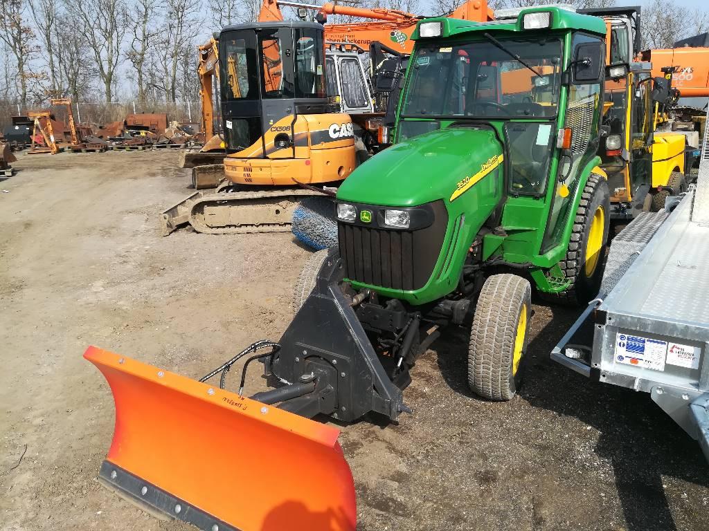 John Deere 3520, Kompakte traktorer, HAVE OG PARK
