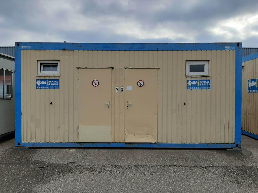 [Other] Toiletunit Sanitairunit Collé WC unit, Speciale containers, Transport