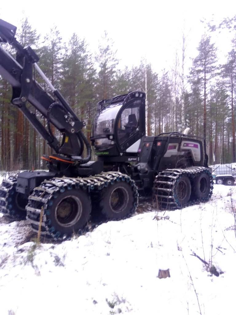 Logset 8H GTE, Harvesterit, Metsäkoneet