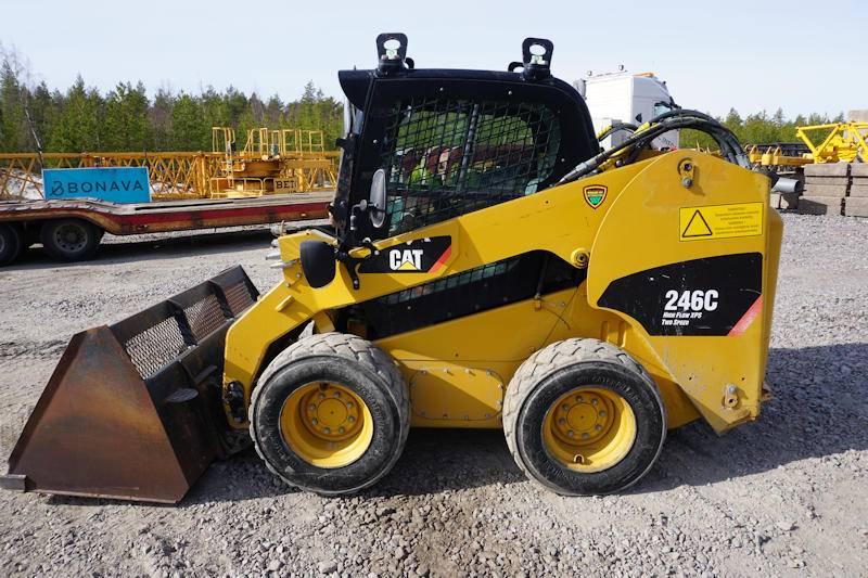 Caterpillar 246C, Skid Steer Loaders, Construction Equipment