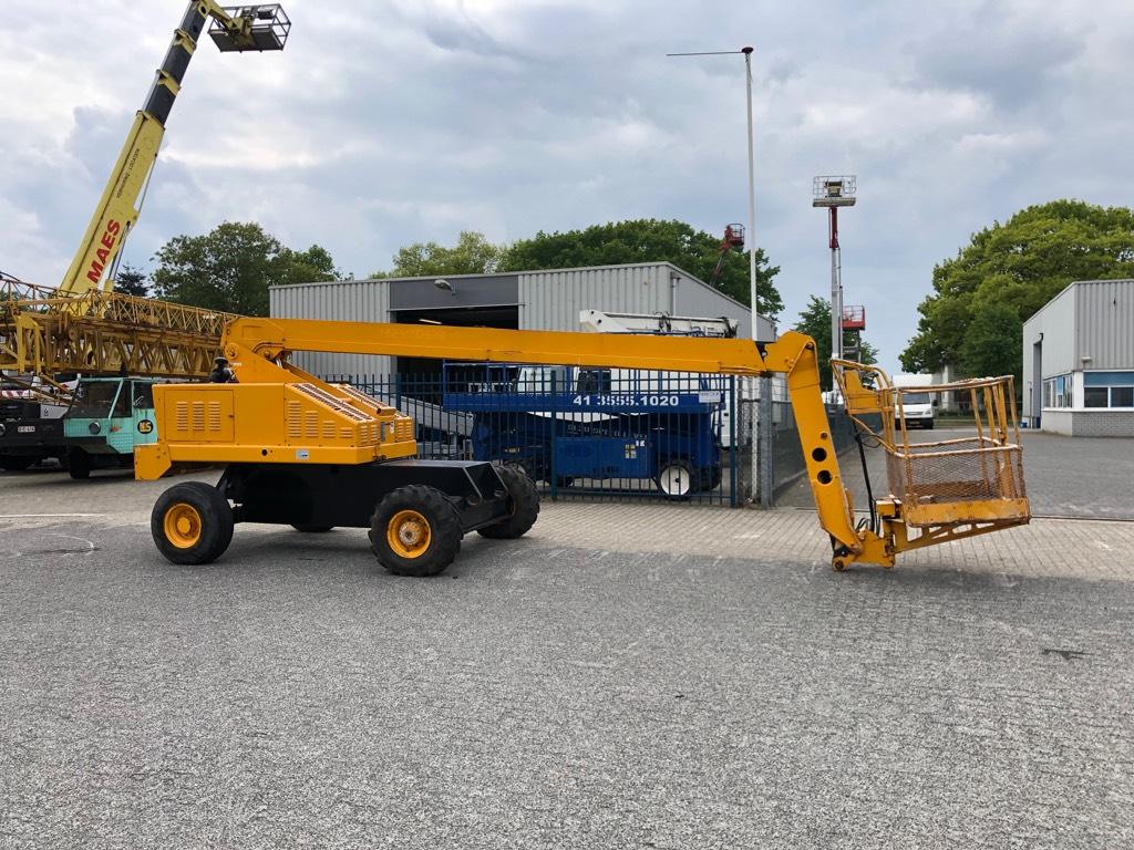 JLG Hoogwerker 16 meter, Diesel, Ruw terrein,, Telescoophoogwerkers, Bouw