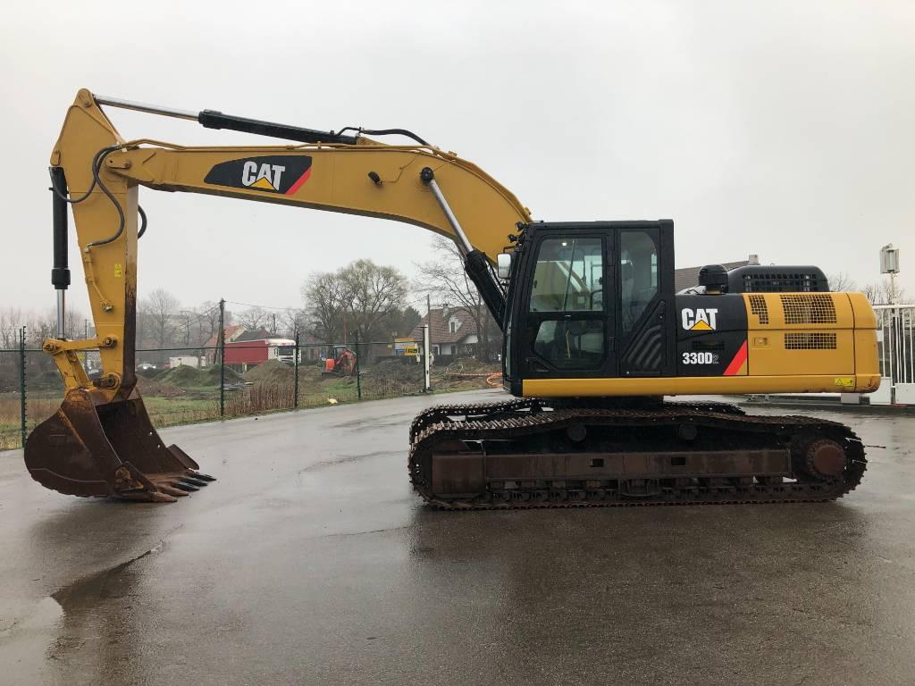 Caterpillar 330 D2L, Crawler excavators, Construction