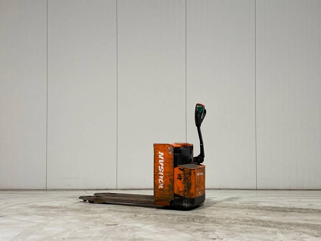 Doosan LEDH20, Electro-pallettrucks, Laden en lossen