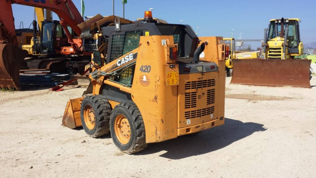 CASE 420, Skid Steer Loaders, Construction Equipment