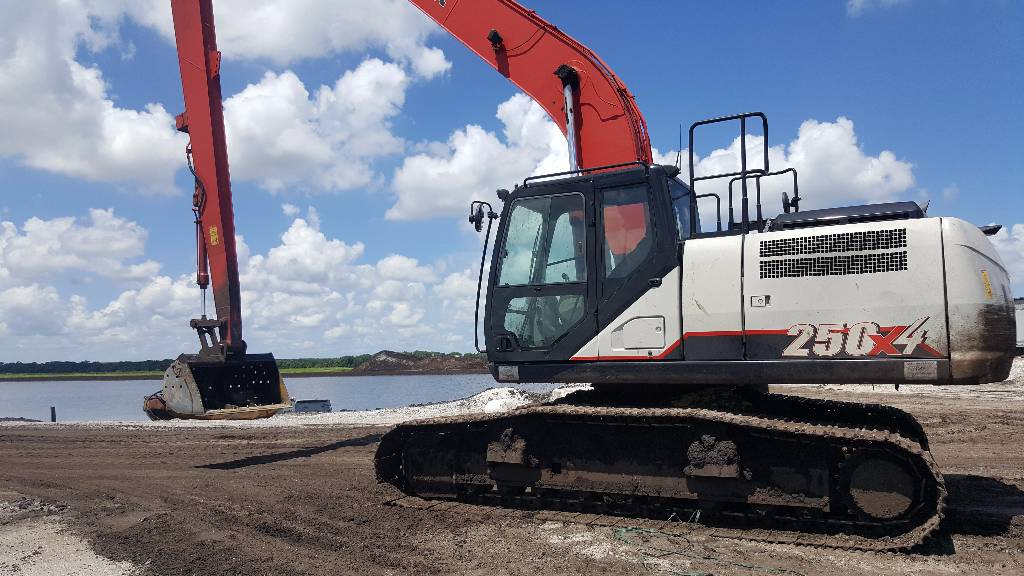 Link-Belt 250 X4 LF, Crawler Excavators, Construction Equipment