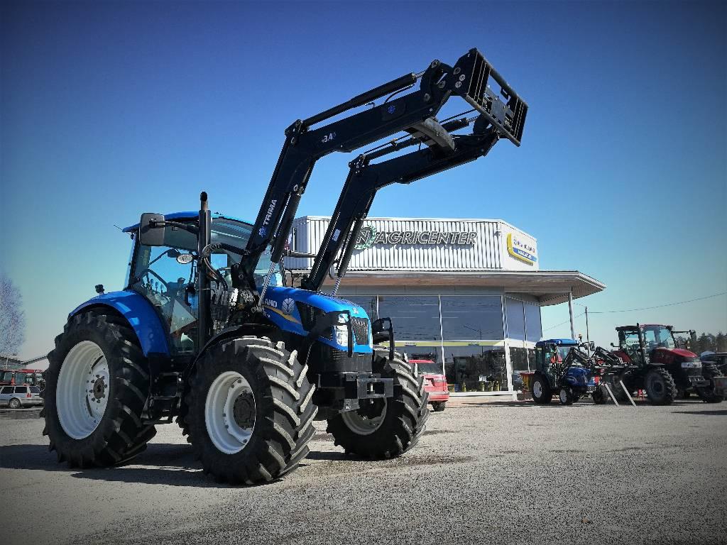 New Holland T5. 115, Traktorit, Maatalous