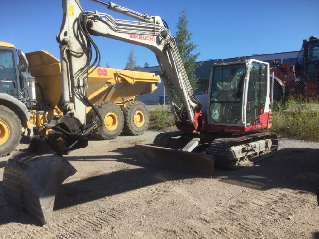 Takeuchi TB290, Midi excavators  7t - 12t, Construction