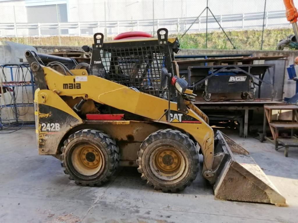 Caterpillar 242 B, Skid Steer Loaders, Construction Equipment