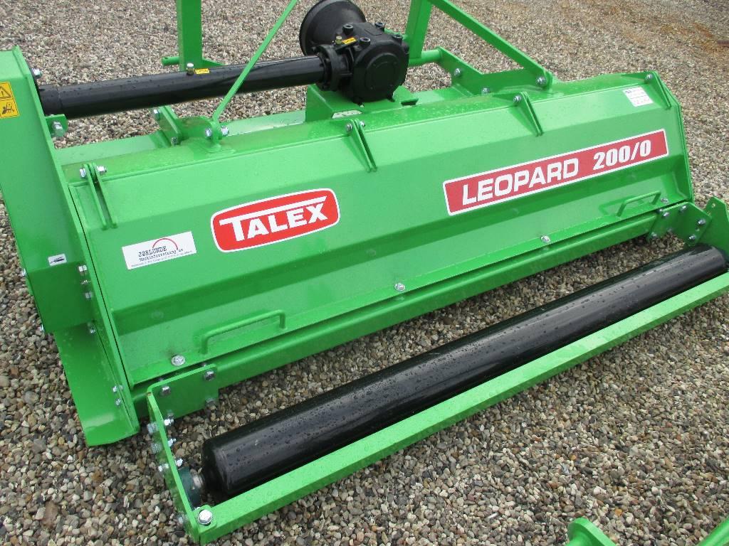 Talex Leopard 200 slagleplipper, Græsslåmaskiner, Landbrug