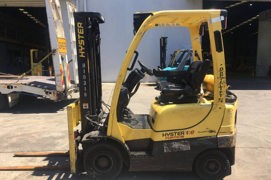Hyster H1.8XT, LPG counterbalance Forklifts, Material Handling