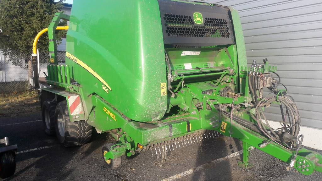 John Deere 960 COMBIPAALAAJA, Other agricultural machines, Agriculture