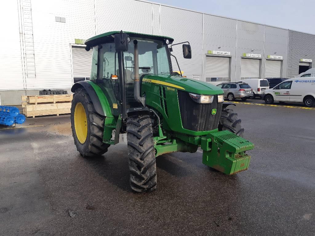 John Deere 5100 M, Traktoriai, Žemės ūkis