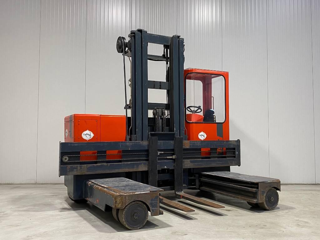 Combilift ESL3560, Four-way truck, Laden en lossen