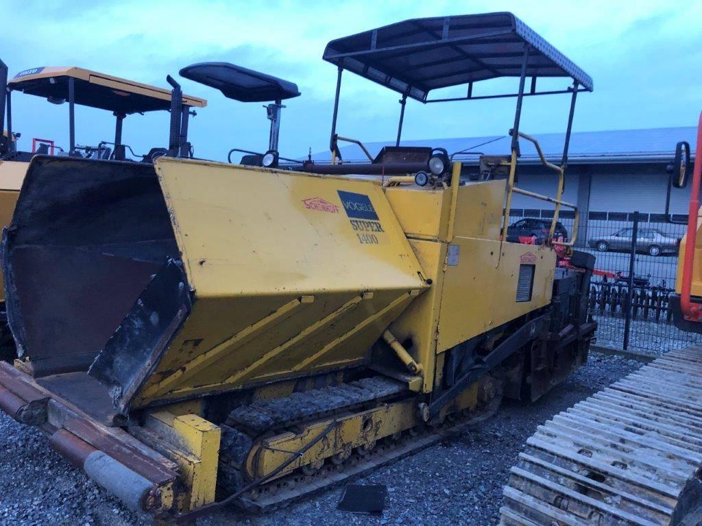 Vögele S 1400 6-12, Asphalt pavers, Construction Equipment