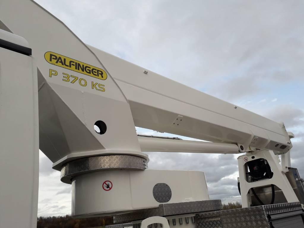 Palfinger P 370 KS, Auto hoogwerkers, Bouw