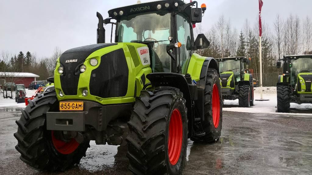 CLAAS AXION 800 830 T4f, Traktorit, Maatalouskoneet