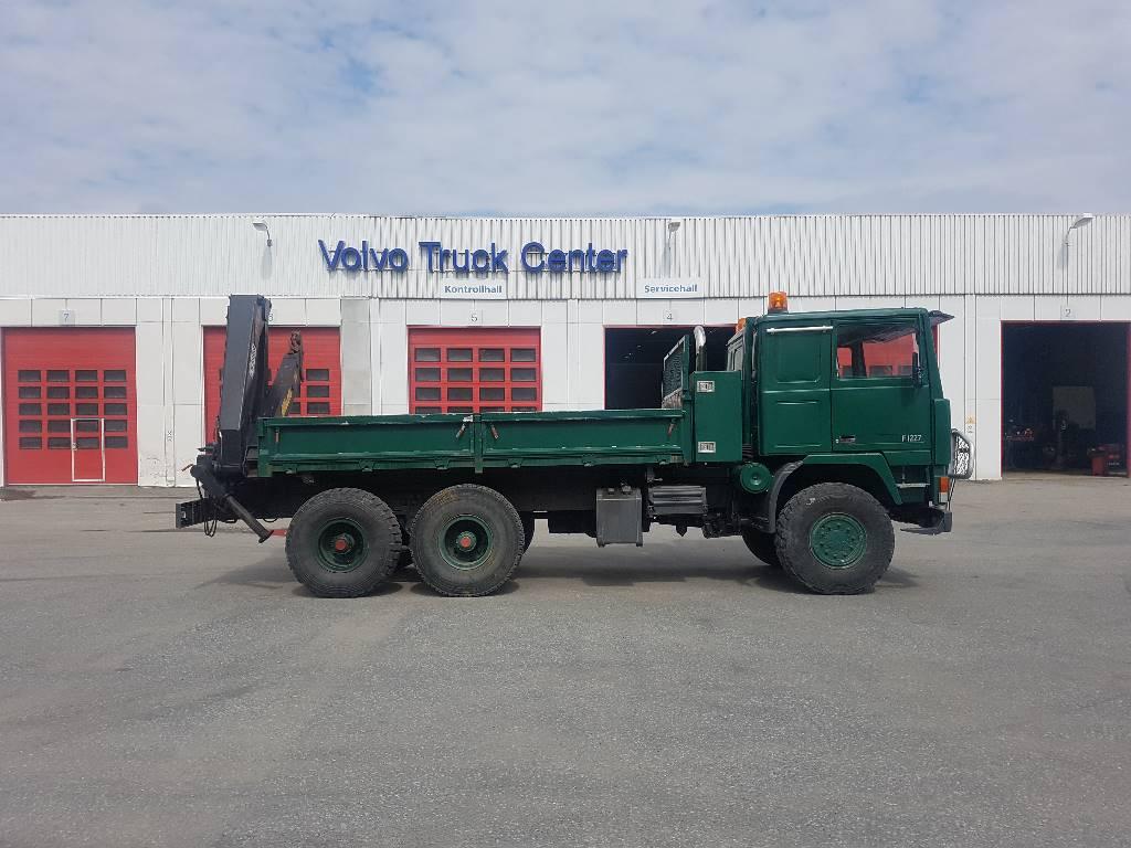 Volvo F1227 6x6, Tippbil, Transport