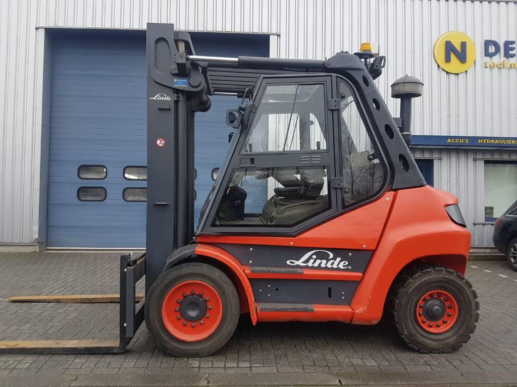 Linde H80D-03, Diesel heftrucks, Laden en lossen