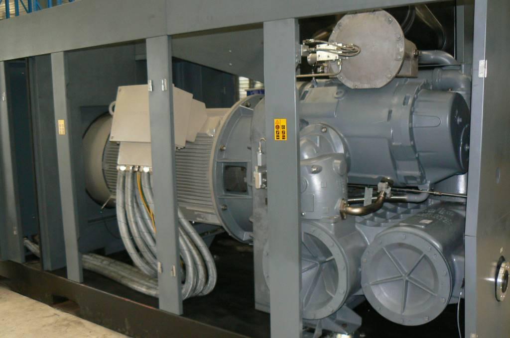 Atlas Copco ZR 900 VSD, Compressores, Construção