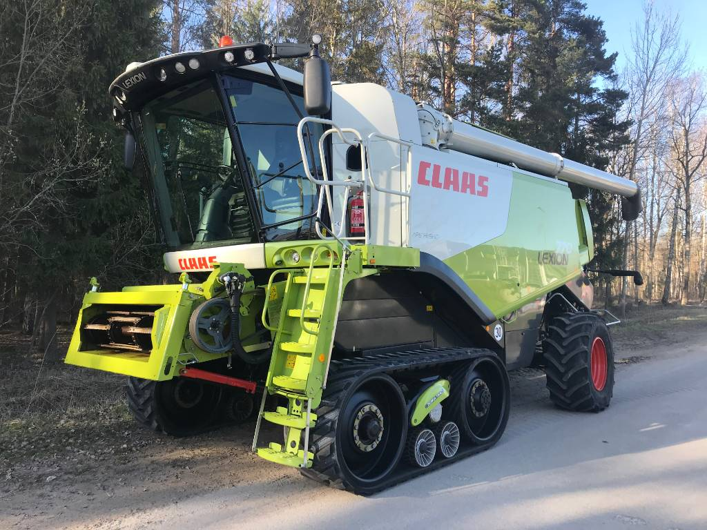 CLAAS Lexion 770 TT, Combine harvesters, Agriculture