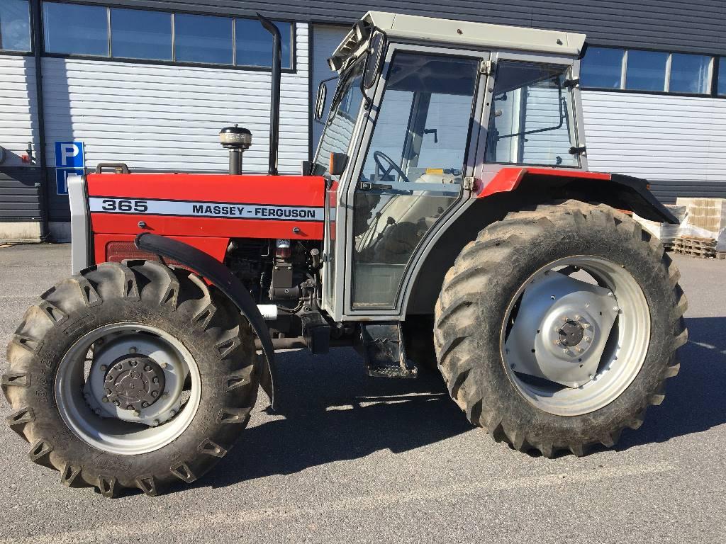 Massey Ferguson 365-4, Traktorit, Maatalous