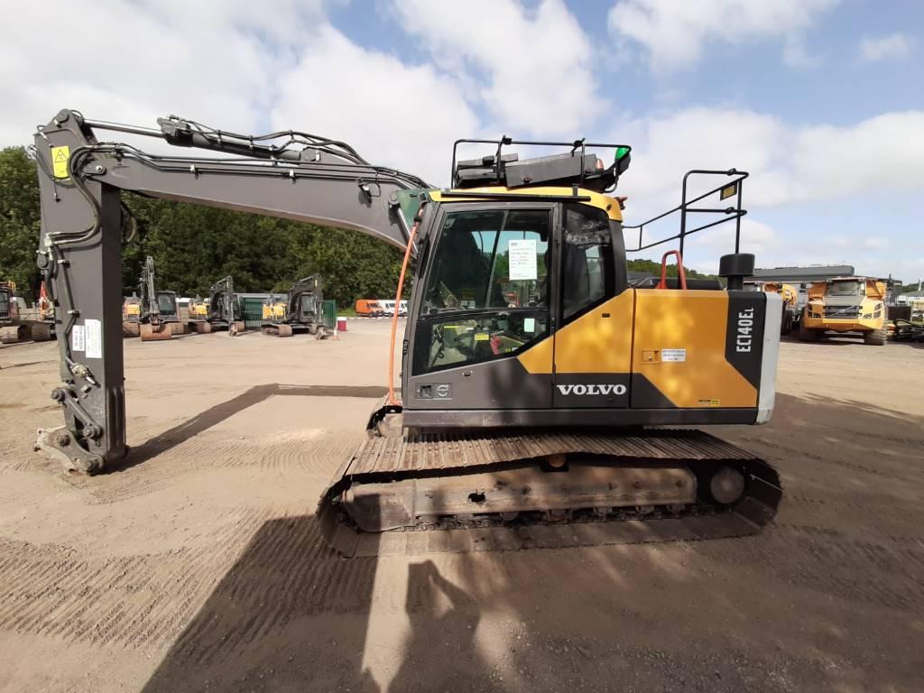 Volvo EC140EL, Crawler Excavators, Construction Equipment