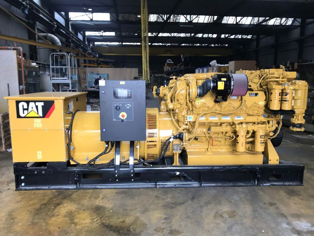 Caterpillar C 32 - Marine Generator Set 1138 kVa - DPH 105204, Marine auxiliary engines, Construction