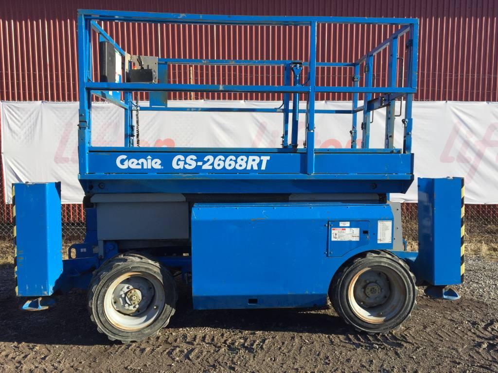 Genie GS 2668 RT, Saxliftar, Entreprenad