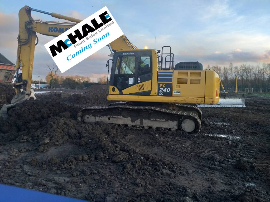 Komatsu PC240LC-10, Crawler Excavators, Construction Equipment