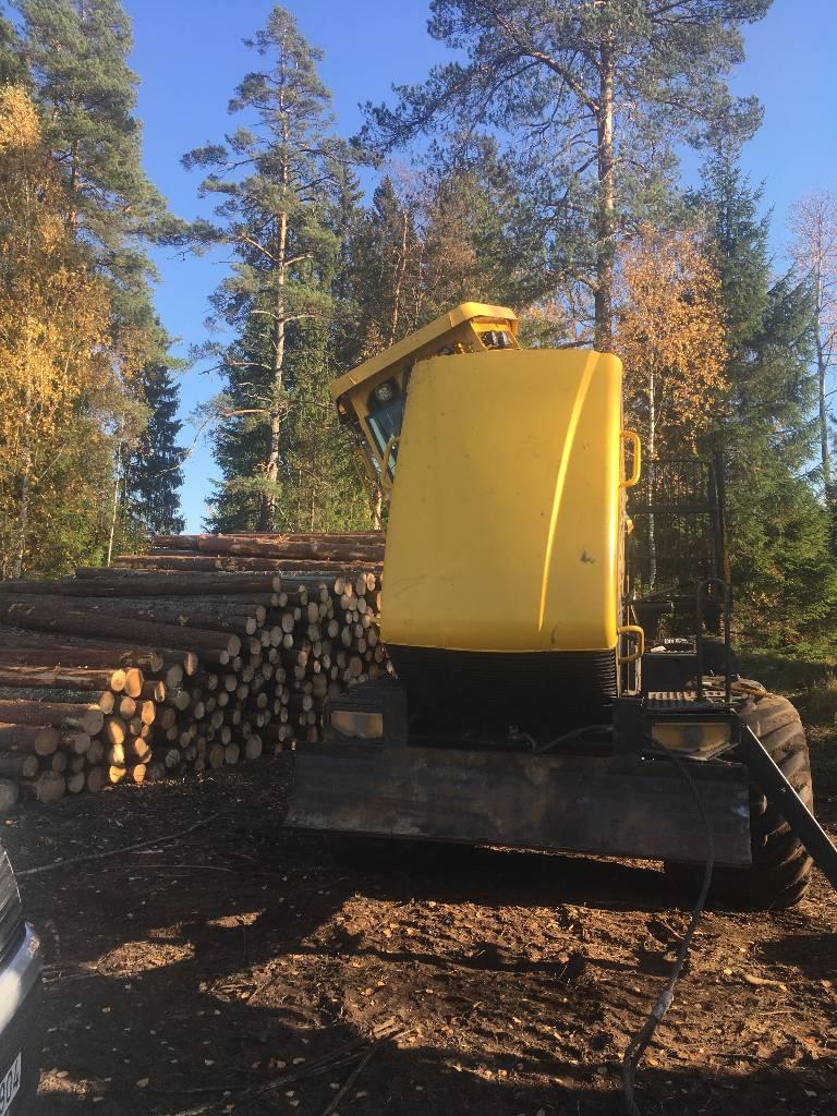 Eco Log 574 D, Kuormatraktorit, Metsäkoneet