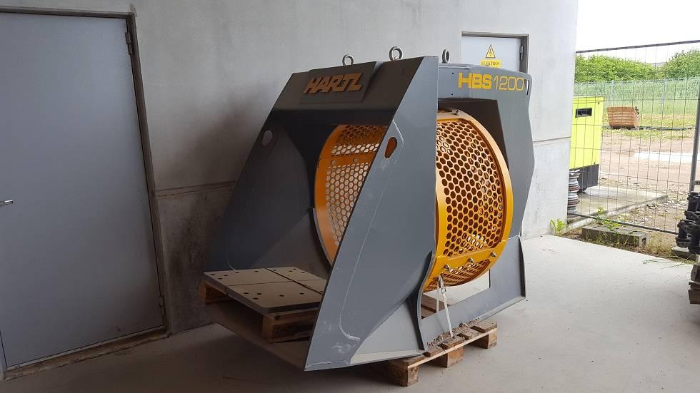 Hartl HBS1200, Sėjamosios, Statyba