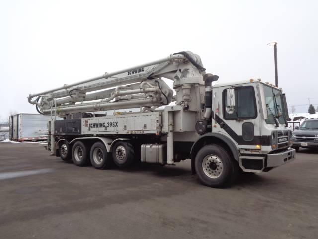 Schwing S39 5X 2023-5, Boom Pumps, Construction Equipment
