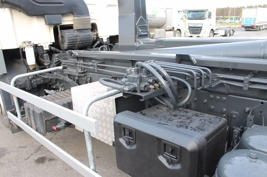 DAF CF85.460, Koukkulava kuorma-autot, Kuljetuskalusto