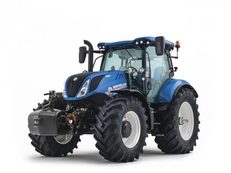 New Holland T6.125S stock, Tractoren, Landbouw