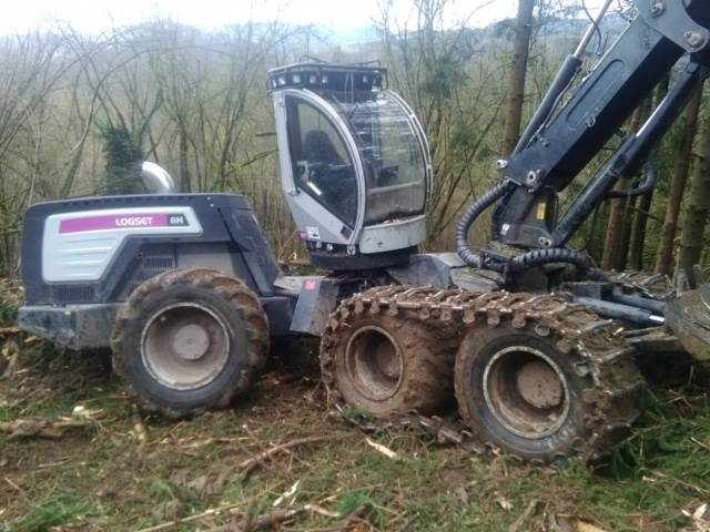 Logset 8HGT, Harvesters, Forestry