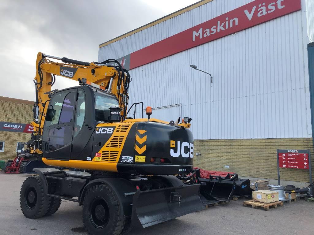 JCB JS 145 W, Hjulgrävare, Entreprenad